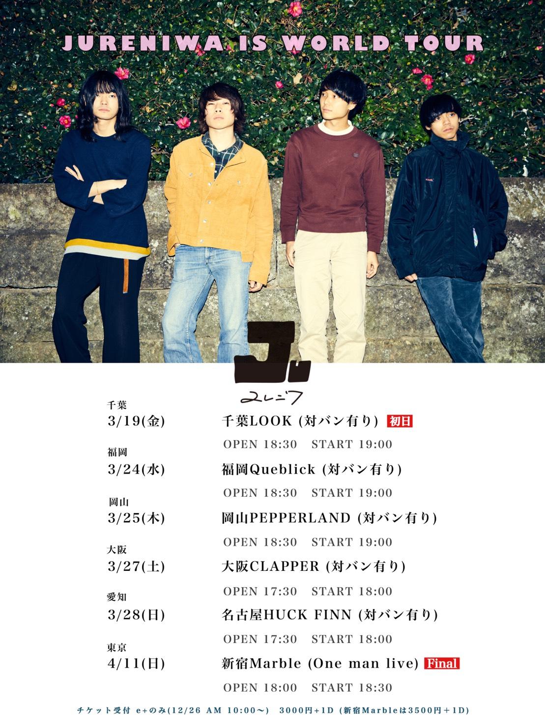 JURENIWA IS WORLD TOUR FINAL